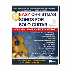 Easy Christmas Songs for Solo Guitar