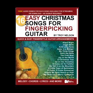 Easy Christmas Songs for Fingerpicking Guitar