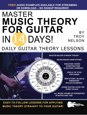 Master Music Theory for Guitar in 14 Days Cover